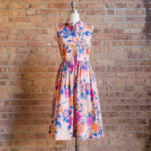 NWT J.Crew Liberty Print Floral Dress with Ruffles